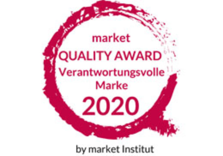 Quality Award by market Institut